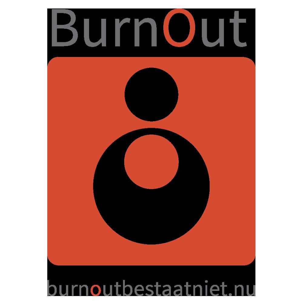 burn-out bestaat niet logo